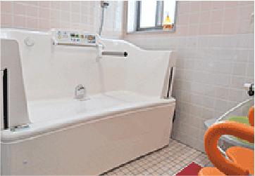 小規模多機能ホームぴゅありす金池 浴室