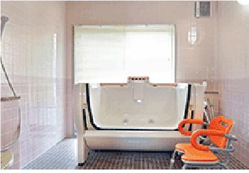 小規模多機能ホームぴゅありす大町 浴室