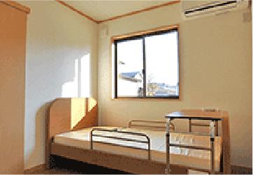 小規模多機能ホームぴゅありす通町 1F 居室(完全個室型)