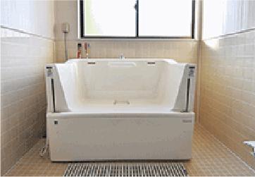小規模多機能ホームぴゅありす通町 浴槽完備